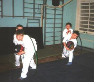 Заняття на секції боротьби